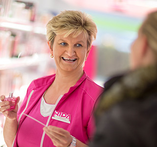 Andrea Schaffler Mitarbeiterin Verkauf