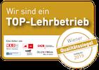 TOP-Lehrbetrieb Qualitätssiegel 2019