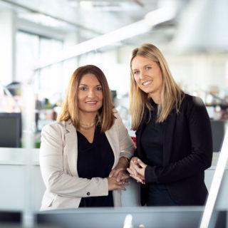 Heidi Prinz und Silvia Ivkic