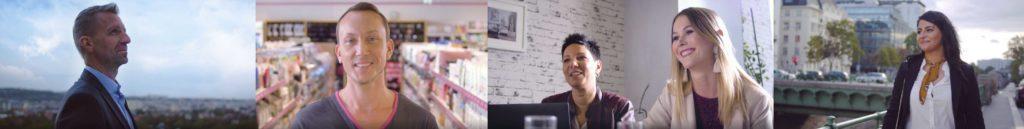 """4 Eindrücke aus dem Film """"BIPA als Arbeitgeber"""""""