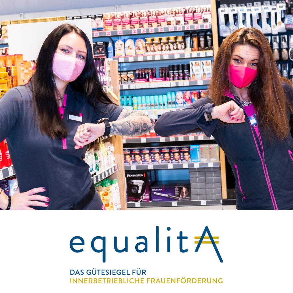 """Gütesiegel """"equalitA"""" für innerbetriebliche Frauenförderung"""