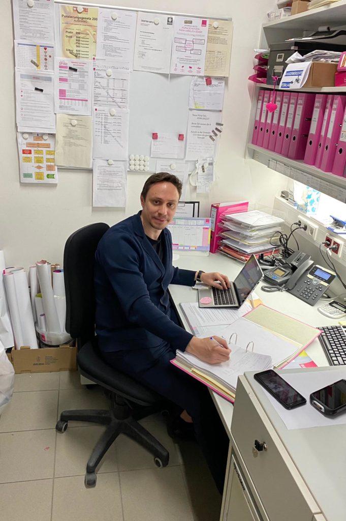Andrei Nan - Rayonsleiter